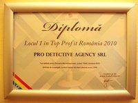 diploma pro detective